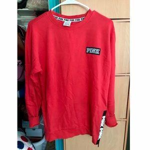 PINK Oversized Sweatshirt SIZE XS